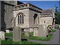 ST7766 : Entrance to Bathampton Parish Church by Basher Eyre