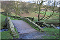 SE0140 : Packhorse Bridge, Newsholme Dean by Mark Anderson
