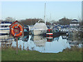 SK6039 : Colwick Marina by Alan Murray-Rust