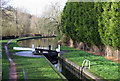 SO8687 : Gothersley Lock, Ashwood, Staffordshire and Worcestershire Canal by Roger  Kidd