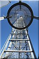 TM3642 : Coastguard station radio mast by Bob Jones