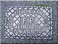 SJ4267 : Cast Iron Grid Cover, Canadian Avenue, Hoole, Chester by BrianPritchard