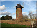 TG4400 : Toft Monks Drainage Mill by Evelyn Simak