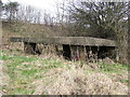 SJ4268 : W W II Pillbox, Near M53 by BrianPritchard