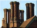 TQ0547 : Pugin's Chimneys, Albury : Week 4
