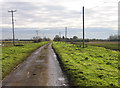 TL4885 : Straight Drove, Coveney Byall Fen, Cambs by Rodney Burton