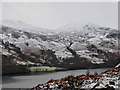 NN6623 : Wintery view across Loch Earn to Fin Glen : Week 5