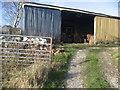 SE0348 : Outbuildings, Foster Cliffe Farms by Chris Heaton