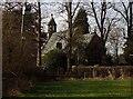 SJ6859 : Church at Bradfield Green by Ian Bottomley