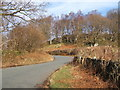 SD1988 : Looking up the steep Duddon valley lane by Andrew Hill