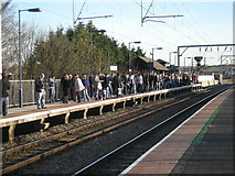 SP0889 : Aston Station: Going home after the match by Row17