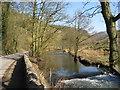 SK1454 : River Dove and Lane by Alan Heardman