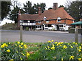 SU9439 : Witley: The White Hart public house by Nigel Cox