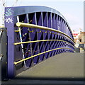 TA1029 : Colourful bridge side next to the River Hull : Week 8