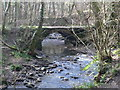 Dist:0.5km<br/>The little arched stone bridge that crosses Wepre Brook near Ewloe castle was built just after Wepre Hall in 1800. It was actually an older bridge, Pont Saeson, that was demolished further up the valley and rebuilt here. It was near this spot that Owain Gwynedd, Prince of North Wales, ambushed and defeated the troops of Henry II in 1157.
