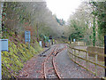SN6878 : Aberffrwd station, Vale of Rheidol Railway by John Lucas