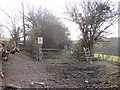 SN6778 : Vale of Rheidol Railway foot crossing by John Lucas
