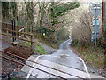 SN6878 : Aberffrwd Level Crossing by John Lucas