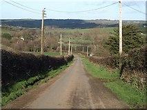 SX2299 : Lane past Penfound by Derek Harper