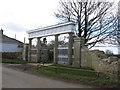 ST6852 : Ornate Gateway at Charlton by Dr Duncan Pepper