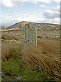 SH7266 : Standing stone with a hole drilled in by Ian Greig