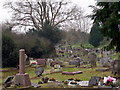 SX4559 : Cemetery at St Budeaux Church by Tony Atkin