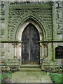SE2744 : St Peter's Church, Arthington, Doorway by Alexander P Kapp