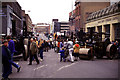 SP0687 : Traction engine rally, Newhall Street by Chris Allen