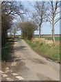 TL9648 : Start of lane towards Kettlebaston by Andrew Hill