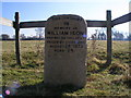TL5162 : William Ison memorial, Quy Fen by Mark Dunn