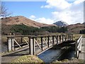 NN0448 : Bridge over the River Creran by Richard Webb