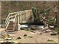 SX7681 : Two bridges across the Bovey by Derek Harper