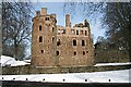 NJ5340 : Huntly Castle by Anne Burgess