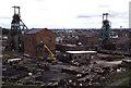 SJ6098 : Golborne Colliery by Chris Allen