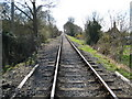 SP7702 : Chinnor and Princes Risborough Railway in Bledlow (1) by Nigel Cox
