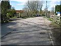 SP7703 : Bledlow: Sandpit Lane disused level crossing by Nigel Cox
