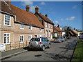 SP8104 : Monks Risborough: Aylesbury Road by Nigel Cox