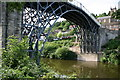 SJ6703 : Ironbridge and Church, Ironbridge, Telford by Peter Scrimshaw