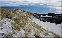 NR3889 : Sand dunes south of Port a Chapuill by Julian Paren