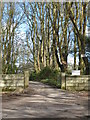 SW7730 : Entrance to Penwarne Estate by Rod Allday