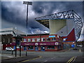 SD8432 : The Jimmy Mcllroy Stand, Turf Moor, Burnley FC by Alexander P Kapp