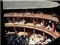 TQ3280 : Shakespeare's Globe Theatre by Sue Sandy