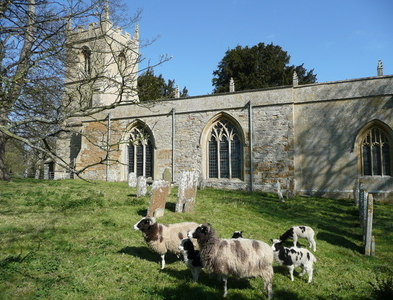 SP2049 : St. Mary's, Preston on Stour by Jonathan Billinger