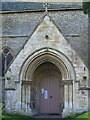 SU4092 : Porch, St James the Great, West Hanney by Maigheach-gheal