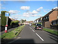 SU6605 : Looking eastwards along Court Close by Basher Eyre