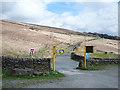 SD9823 : Car park below Withens Clough Reservoir by michael ely