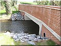 SJ7038 : New bridge over the River Tern by John M