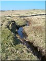 NX4599 : Moorland Burn by Mary and Angus Hogg