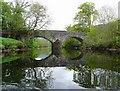 NN5617 : Strathyre bridge from the River Balvag by Gordon Brown: Week 20