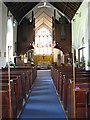 TG5112 : Holy Trinity church - view east by Evelyn Simak